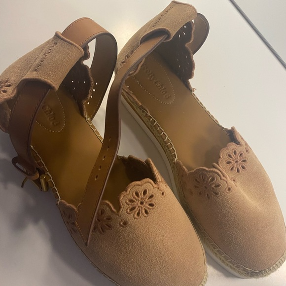 chloe designer sandals